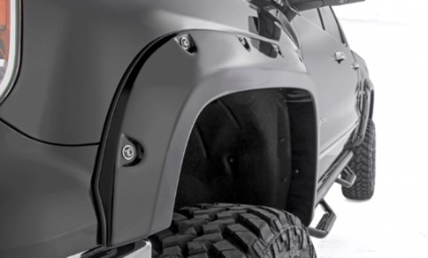 Extension d'ailes (Fender Flares) / Interieur d'ailes (Wheel Liners)