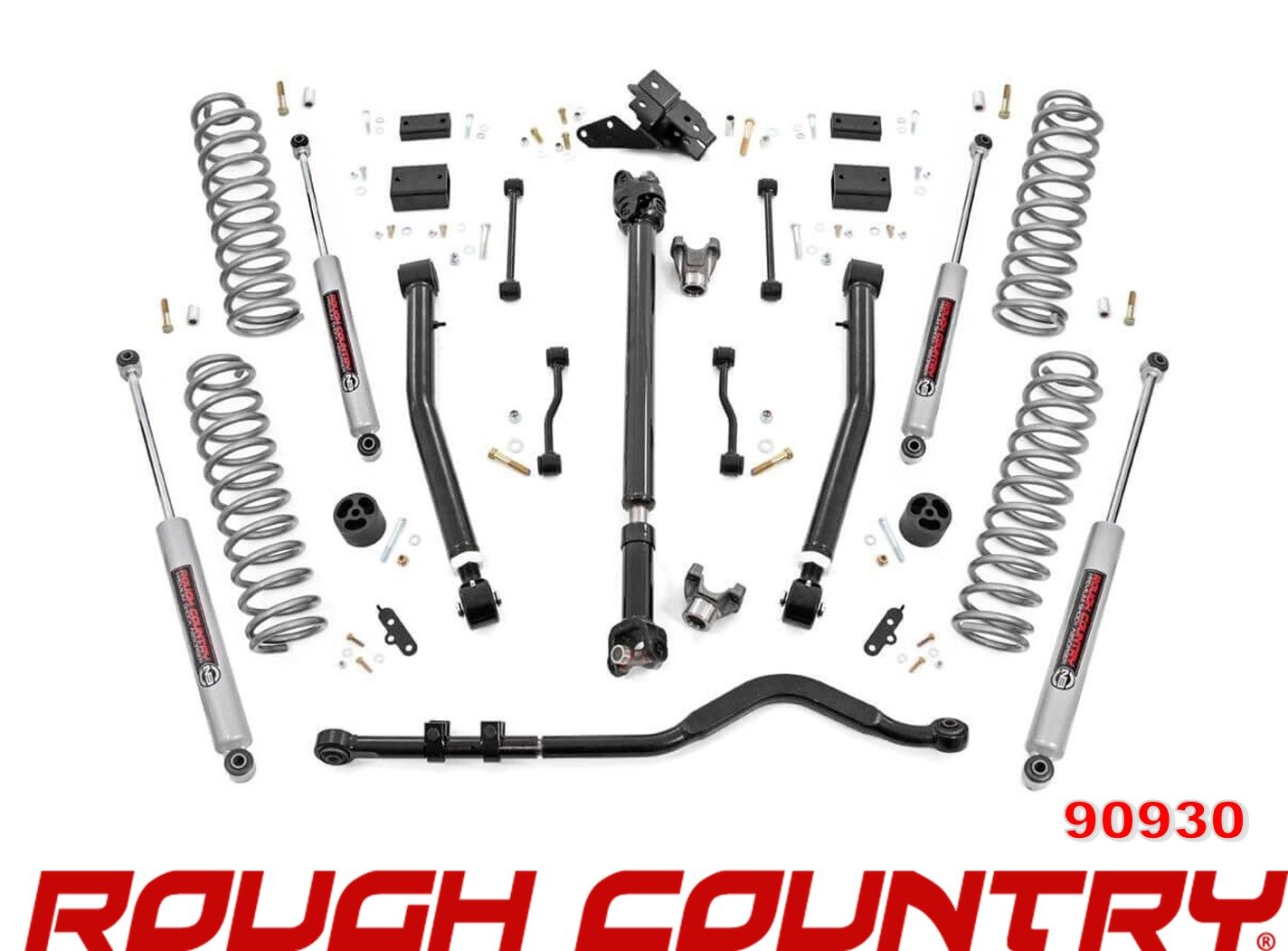 Rough Country 91230 6IN JEEP GLADIATOR SUSPENSION Lift Kit