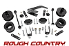 635 Rough Country Suspension 2.5IN SERIES II  Jeep Wrangler 07-18