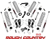 69430 ROUGH COUNTRY Suspension 3.5in Wrangler Unlimited 07-18 Control Arms Drop
