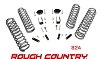 624 Rough Country Suspension 2.5in  Jeep Wrangler 2 portes 07-18