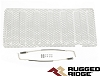 1140122 Rugged Ridge Insertion de Grille Acier Inoxydable Fini Satin Wrangler JK 07-18 Mesh