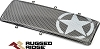 1203421 Rugged Ridge Grille pour contour Spartan-Angry Eye Military Star Wrangler JK 07-18