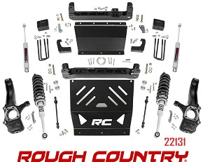 Rough Country Suspension 4in Lift Kit no 22131