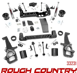 Rough Country Suspension 6in Lift Kit no 33231