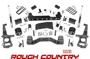 Rough Country Suspension 4in Lift Kit 55530