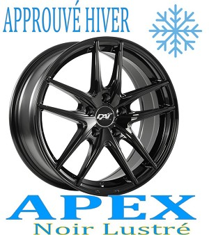 DAI Wheels DW100 APEX Noir Lustre