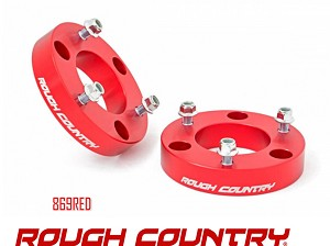 Rough Country Suspension 2in Leveling Kit no 869RED