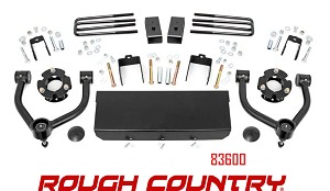 Rough Country Suspension 3in Bolt-On Lift Kit no 83600