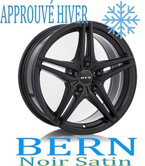 RTX Wheels BERN Noir Satin