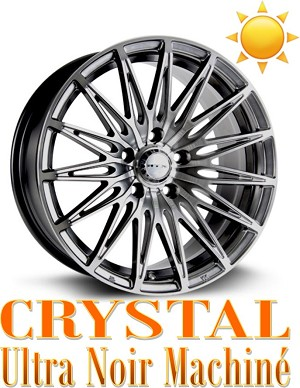 RTX Wheels CRYSTAL Ultra Noir Machine