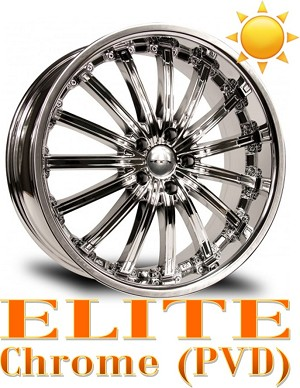 RTX Wheels ELITE Chrome PVD