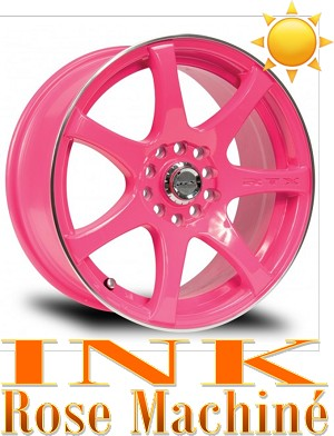 RTX Wheels INK Rose et Machine