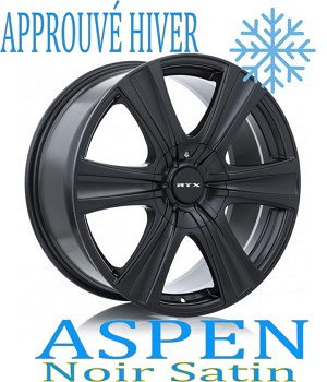 RTX Wheels ASPEN Noir Satin