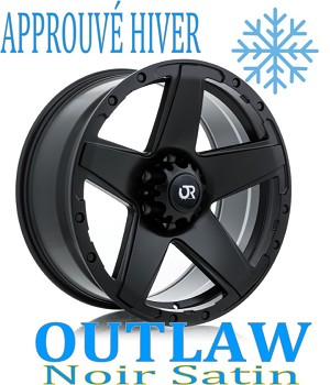 RTX Wheels Offroad OUTLAW Noir Satin