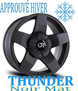 RTX Wheels Offroad Series THUNDER Noir Mat