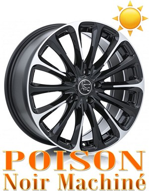 RTX Wheels POISON Noir Machine