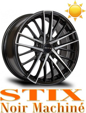 RTX Wheels STIX Noir Machine
