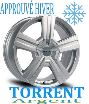 RTX Wheels TORRENT Argent