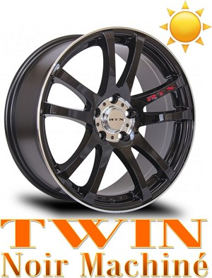 RTX Wheels TWIN Noir Machine