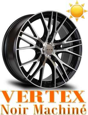RTX Wheels VERTEX Noir Machine