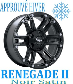 Ruffino HARD Wheels RENEGADE II Noir Satin