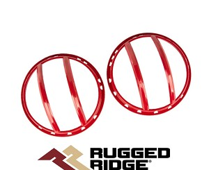 Rugged Ridge 11230.17 Euro Light Guard Rouge