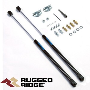 Rugged Ridge 11252.51 Supports pour Capot