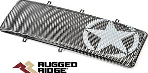 Rugged Ridge 12034.21 Insertion de Grille Spartan  Military Star
