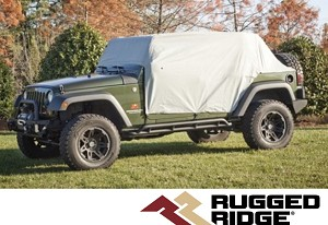 Rugged Ridge 11318.10 Weather Lite Cab Cover Housse